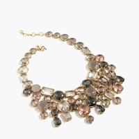 J.Crew Crystal Waterfall Necklace