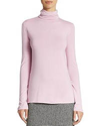 Lord And Taylor Turtleneck Top Frosted Lilac