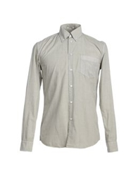 Geox Long Sleeve Shirts Beige
