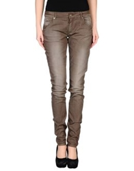 G.Sel Denim Pants Dark Brown