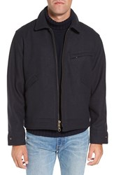 Filson Men's Mackinaw Wool Work Jacket Navy