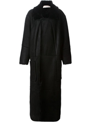 A.F.Vandevorst 'Myth' Long Coat Black