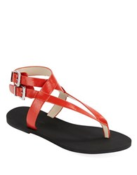 Kenneth Cole Ariel Strappy Sandals Red