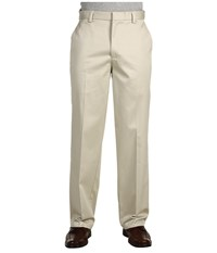 Dockers Signature Khaki D3 Classic Fit Flat Front Cloud Men's Casual Pants White