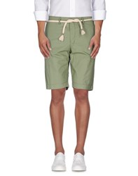 Esemplare Trousers Bermuda Shorts Men Military Green