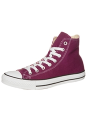 Converse Chuck Taylor All Star Hi Core Canvas Hightop Trainers Bordeaux Red