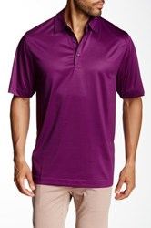 Cutter And Buck Cb Drytec Titus Polo Purple