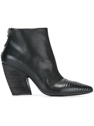 Marsell Zipped Ankle Boots Black