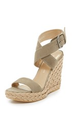 Stuart Weitzman X Ray Wedge Sandals Rock