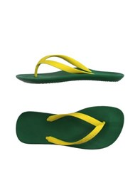 Le_Infra Footwear Thong Sandals Women Yellow