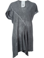 Lost And Found Rooms Asymmetric Dress Grey