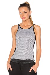 Solow Crosscut Sports Tank White