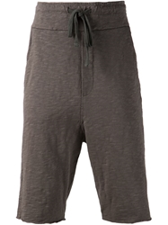 Thom Krom Cropped Track Pants Grey