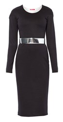 Maiocci Collection Longsleeve Bodycon Dress Black