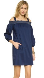 Shoshanna Sangha Dress Navy