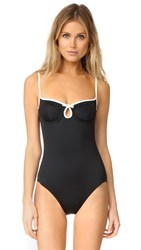 Kate Spade Plage Du Midi One Piece Black