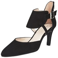 John Lewis Allanah Two Part Court Shoes Black