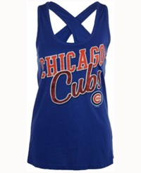 G3 Sports Women's Chicago Cubs On Base Tank Royalblue