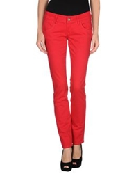 Fornarina Casual Pants Red