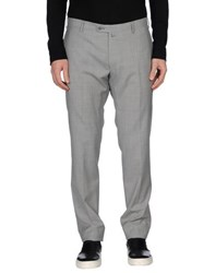 Luigi Borrelli Napoli Trousers Casual Trousers Men Grey