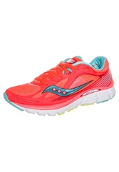 Saucony Kinvara 5 Lightweight Running Shoes Vizicoral Blue Pink