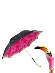Pasotti Resin Flamingo Printed Umbrella