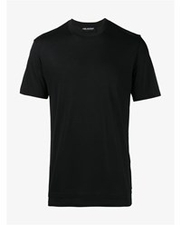 Neil Barrett Classic Short Sleeve T Shirt Black Grey White