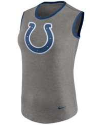 Nike Women's Indianapolis Colts Standard Tri Tank Gray