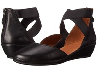 Gentle Souls Noa Black Leather Women's Shoes