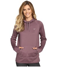 Nike All Time Pullover Hoodie Purple Shade Bleached Lilac Plum Fog Women's Long Sleeve Pullover