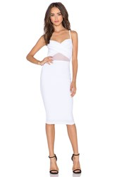 Nookie Modern Muse Twist Bustier Dress White