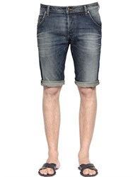 Diesel Vintage Washed Cotton Denim Shorts