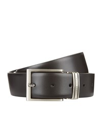 Boss Reversible Belt And Two Buckle Gift Box Unisex Black