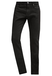 Frame Denim Straight Leg Jeans Noir Black Denim