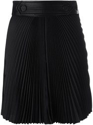 Emanuel Ungaro Pleated Short Skirt Blue