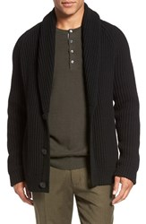 Vince Men's Trim Fit Shawl Collar Button Cardigan