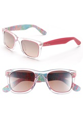 Lilly Pulitzer 'Gabby' 49Mm Retro Sunglasses Crystal Hibiscus