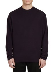 Givenchy Long Sleeve Cashmere Sweater Purple