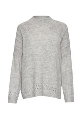 Great Plains Cloud Knits Detail Jumper Grey