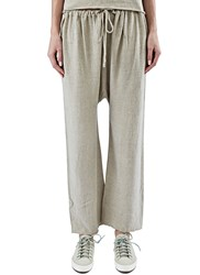 Lauren Manoogian Linen Sack Pants Beige
