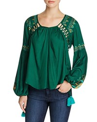Kas Embroidered Peasant Blouse Compare At 210 Hunter