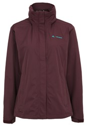 Vaude Escape Light Outdoor Jacket Dark Plum Bordeaux