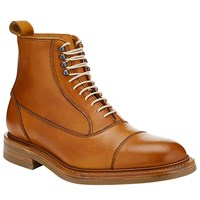 John Lewis And Co. Jasper Made In England Leather Boots Tan