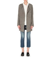 Closed Jacquard Knitted Cardigan Cliff