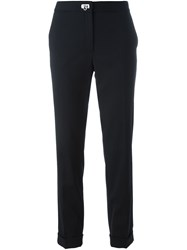 Salvatore Ferragamo Straight Trousers Black
