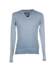 Replay Sweaters Military Green