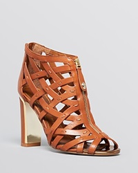 Ivanka Trump Open Toe Caged Sandals Erica High Heel