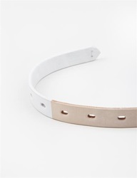 Y's Paint Belt Thin Beige
