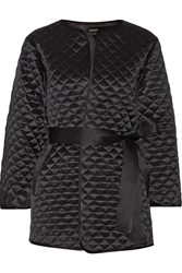 Adam By Adam Lippes Quilted Silk Satin Jacket