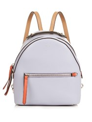 Fendi By The Way Leather Mini Backpack Light Purple